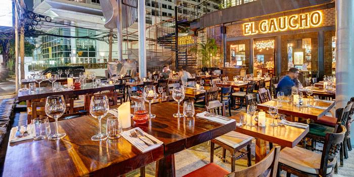 Ambience of El Gaucho Argentinian Steakhouse at 88,36 Sukhumvit 55, Thonglor Klongton Nua, Wattana Bangkok