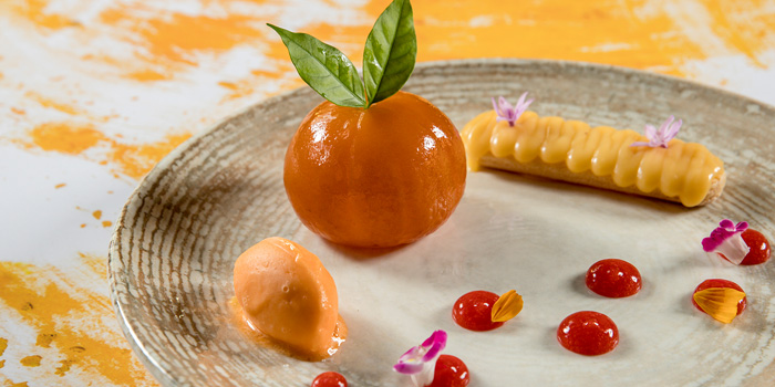Signature Dessert from Volti ristorante & bar at Shangri-La Hotel, Bangkok