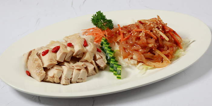 Braised Whole Two Head Abalone from Shang Palace at Shangri-La Hotel, Bangkok