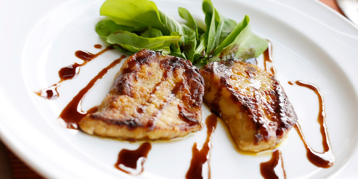 Seared Foie Gras from NEXT2 Cafe at Shangri-La Hotel, Bangkok