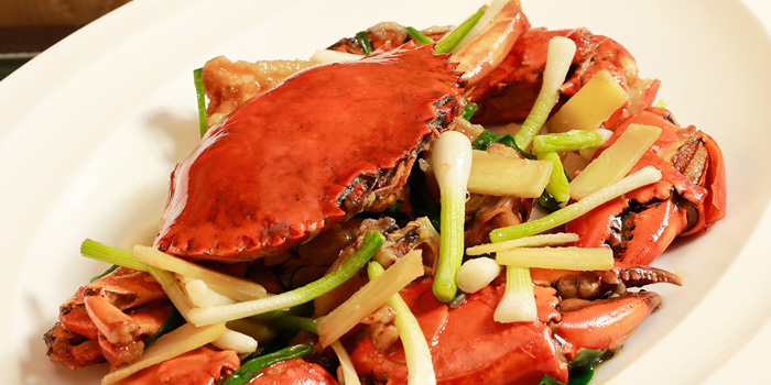 Hong Kong Style Stir-fried Crab from Shang Palace at Shangri-La Hotel, Bangkok