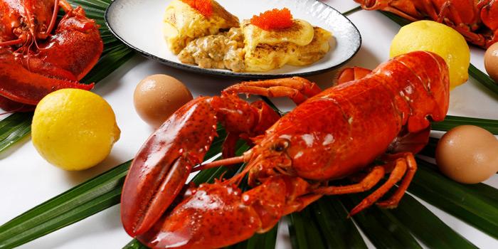 Lobster Omelette from NEXT2 Cafe at Shangri-La Hotel, Bangkok