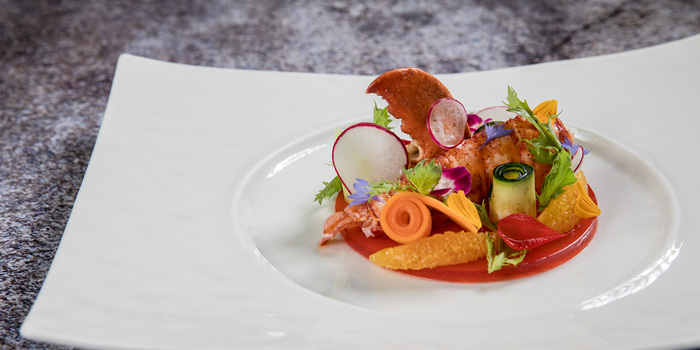 Lobster Salad from Volti ristorante & bar at Shangri-La Hotel, Bangkok