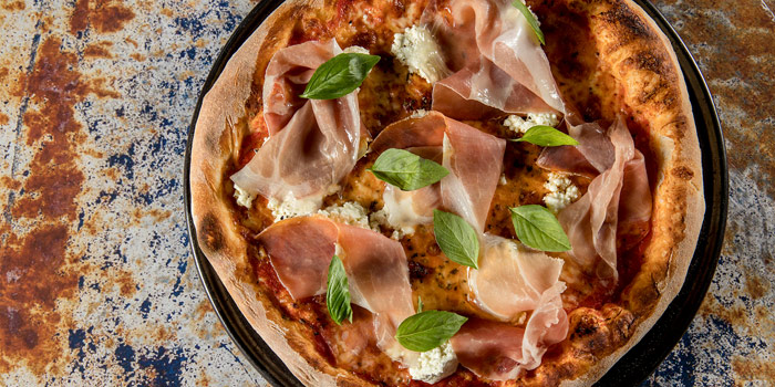 Pizza Parma Ham from Volti ristorante & bar at Shangri-La Hotel, Bangkok