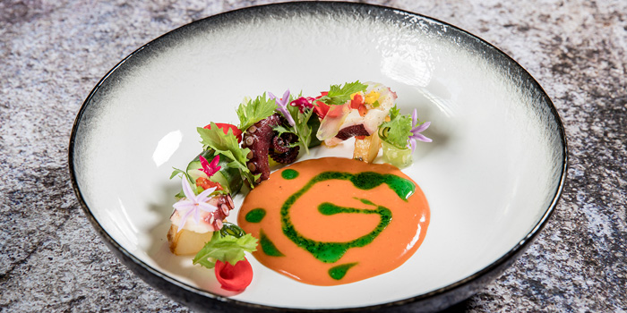 Signature Dish from Volti ristorante & bar at Shangri-La Hotel, Bangkok