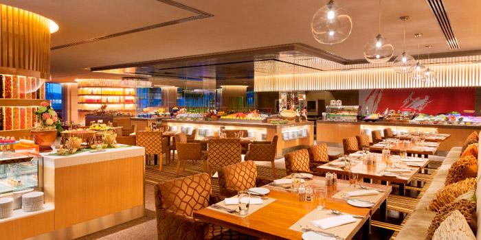 The Dining Area of NEXT2 Cafe at Shangri-La Hotel, Bangkok
