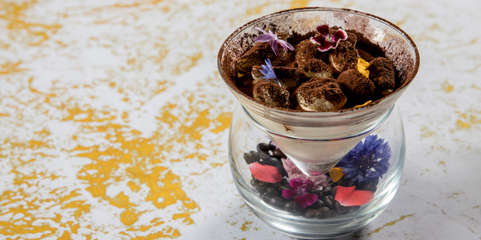 Tiramisu from Volti ristorante & bar at Shangri-La Hotel, Bangkok