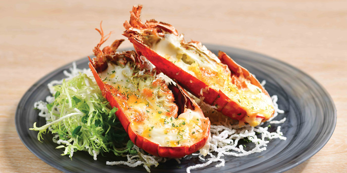 Baked Lobster with Cheese, The Place, Mongkok, Hong Kong