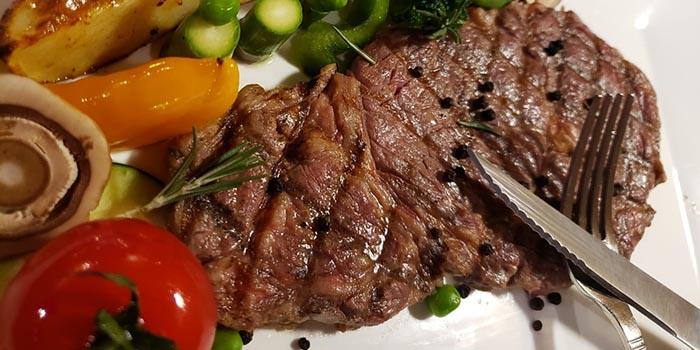 de la valley angus beef rib eye  steak, Boire et Manger, Wan Chai, Hong Kong