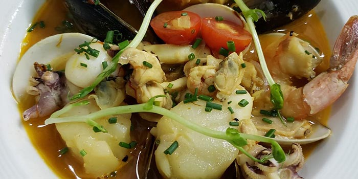 mixed seafood bouillabaisse, Boire et Manger, Wan Chai, Hong Kong