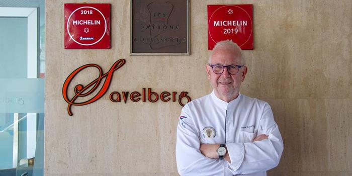 Chef from Savelberg on Wireless Road, Bangkok