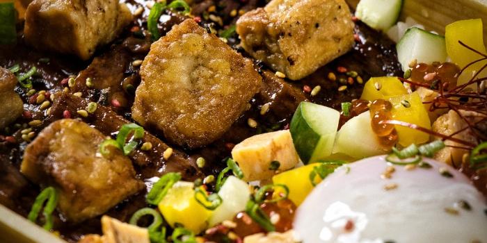 Yakiniku Wagyu Foie Gras Don from The Gyu Bar in Newton, Singapore