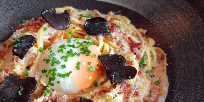 Summer Truffle Carbonara from Platypus Cantina Katong (Delivery) in East Coast, Singapore