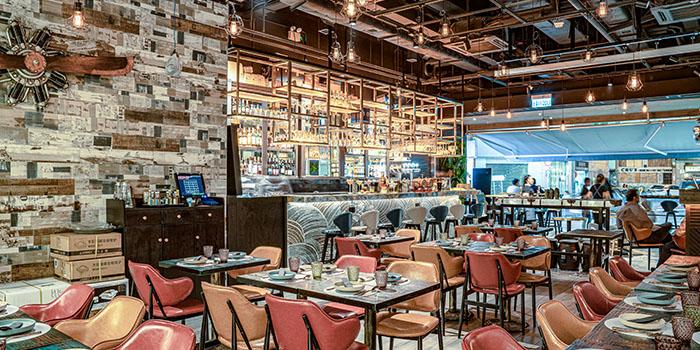 Interior, 8Five2 Restobar, Tsim Sha Tsui, Hong Kong