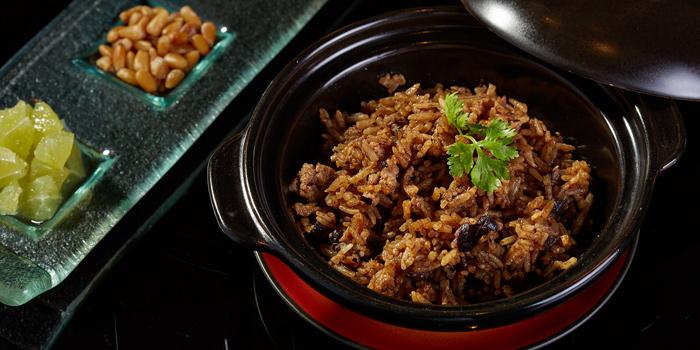 Baked Rice from Red Rose Restaurant & Jazz Bar at Shanghai Mansion in Yaowaraj Road, Samphantawong, Bangkok