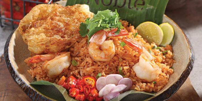 Tom Yum Fried Rice at Noble by Zab Thai, Gunawarman