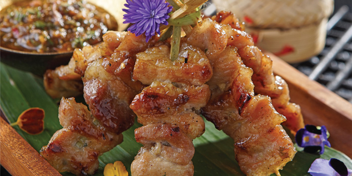 Street-style Pork Satay at Noble by Zab Thai, Gunawarman