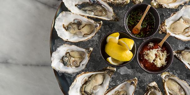Oysters, Bizou, Admiralty, Hong Kong