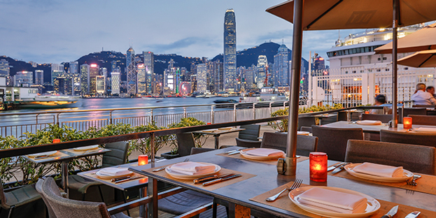 Al Fresco, BLT Steak, Tsim Sha Tsui, Hong Kong
