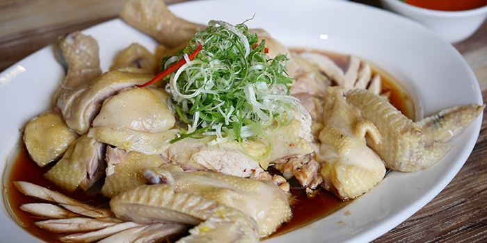 Hainese Kampung Chicken from Cheval Chi Bao at Hometeam NS Clubhouse in Bukit Batok, Singapore