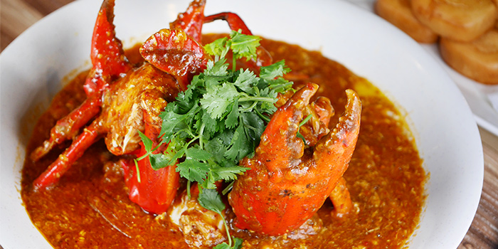 Chilli Crab from Cheval Chi Bao at Hometeam NS Clubhouse in Bukit Batok, Singapore