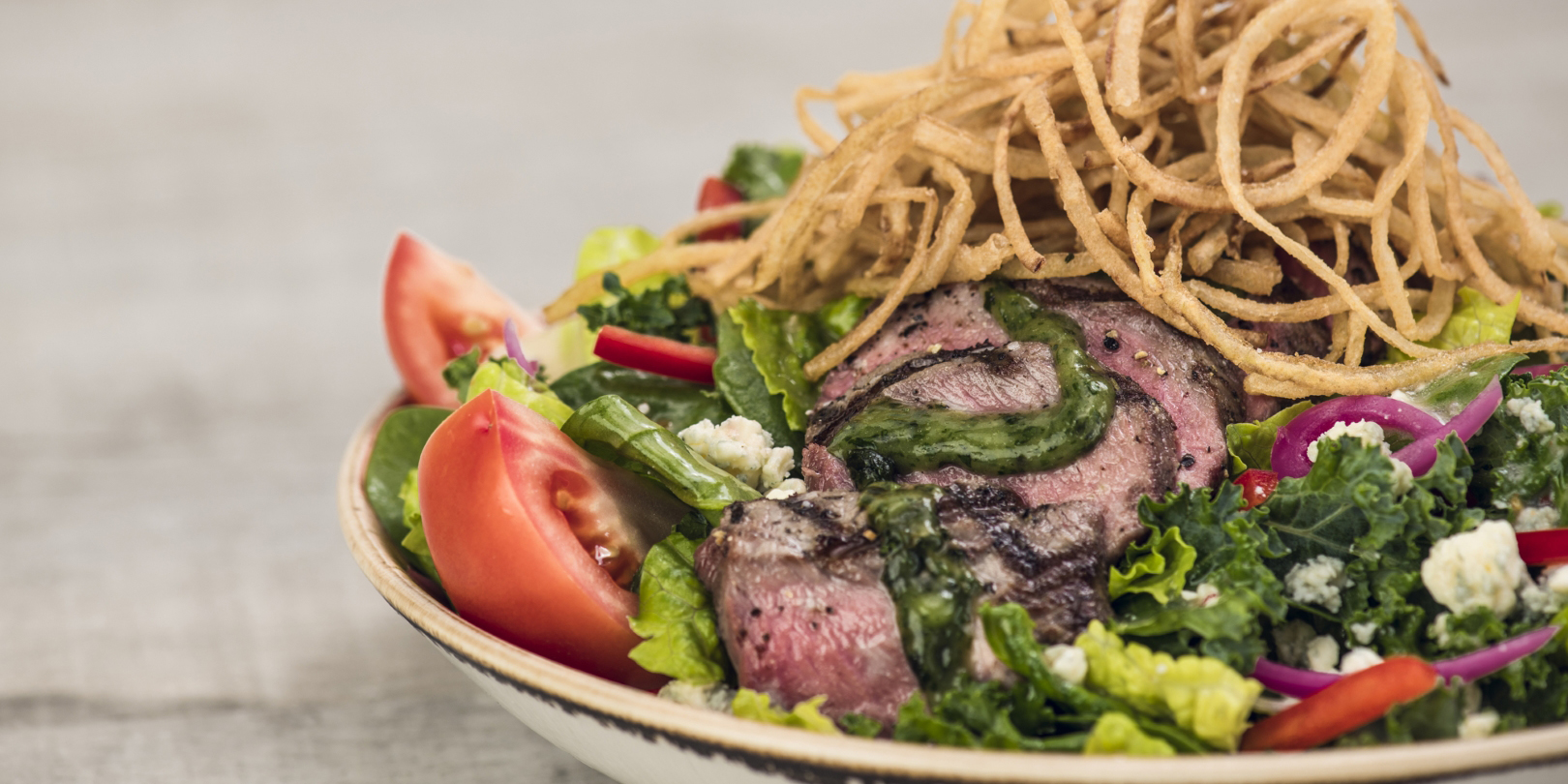 Steaks Salad from Hard Rock Cafe Bangkok in Siam Square Soi 11, Bangkok