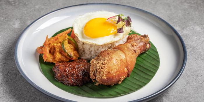 Nasi Lemak Chicken from Tiger Street Lab at Jewel Changi Airport in Changi, Singapore