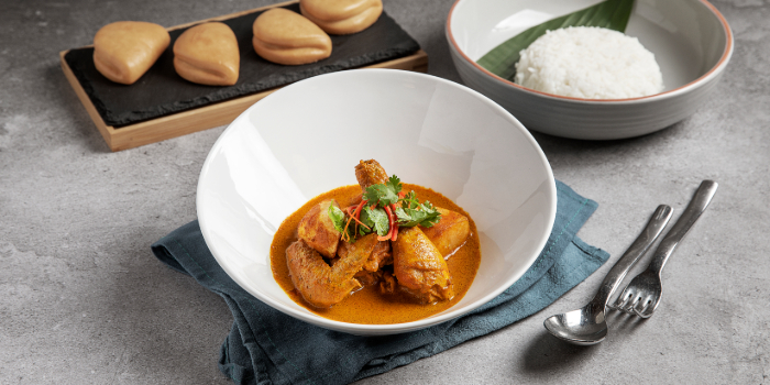 Lemak Chicken Curry from Tiger Street Lab at Jewel Changi Airport in Changi, Singapore