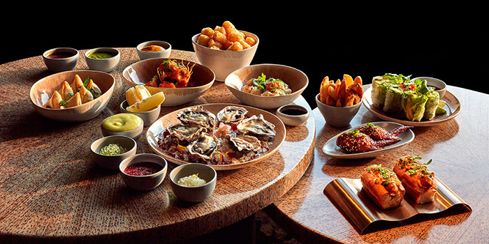 Weekend Brunch from MO BAR at Mandarin Oriental Singapore in City Hall, Singapore