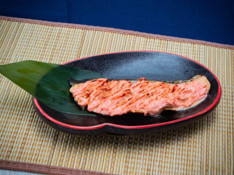 Grilled Salmon Mentaiko from Unagiya Ichinoji Dining (Suntec City) at Suntec City Mall in Promenade, Singapore
