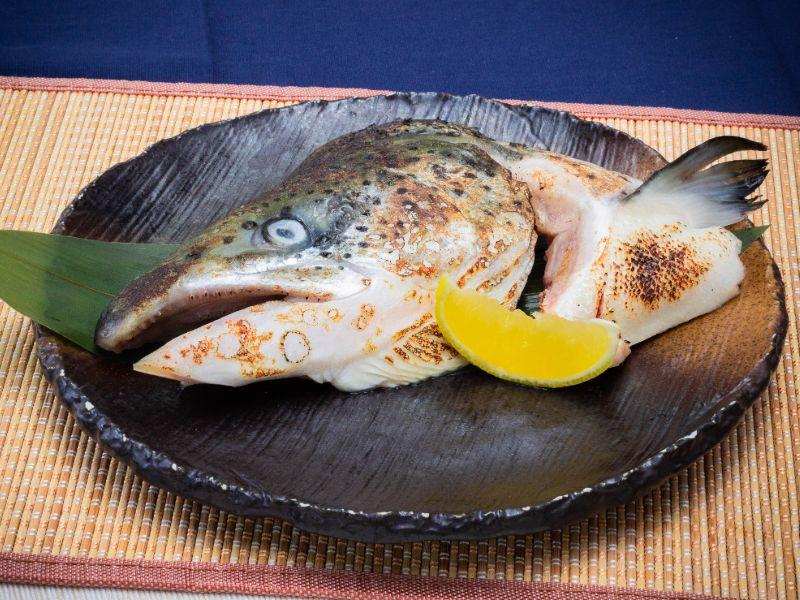 Grilled Salmon Kabuto Yaki from Unagiya Ichinoji Dining (Suntec City) at Suntec City Mall in Promenade, Singapore