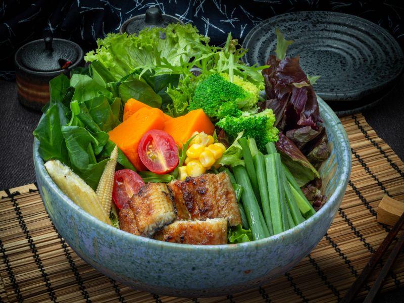 Unagi Salad from Unagiya Ichinoji Dining (Suntec City) at Suntec City Mall in Promenade, Singapore