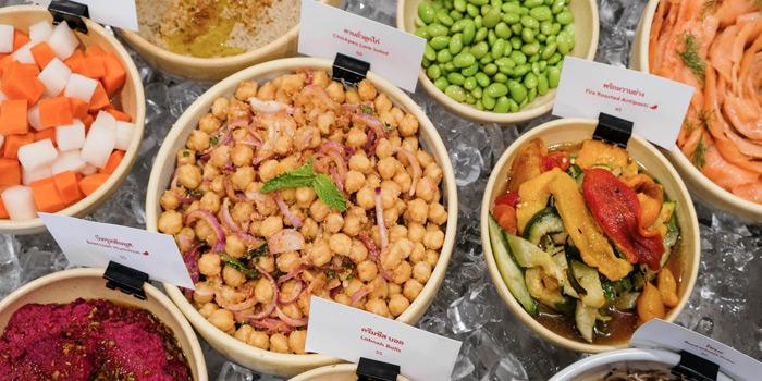 Selection of Food from Pimp My Salad at 58 Soi Sathon 8, Khwaeng Silom, Khet Bang Rak, Bangkok