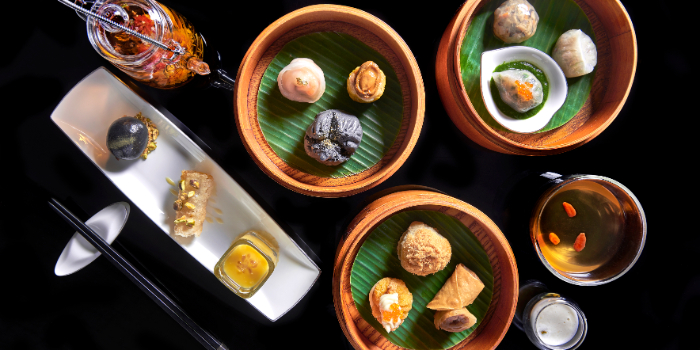 Oriental Dim Sum Afternoon Tea from Cassia at Capella Hotel on Sentosa Island, Singapore