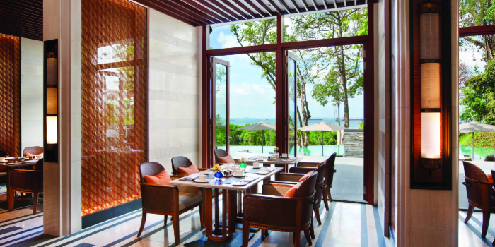 Pool Viewof The Knolls on Sentosa Island, Singapore