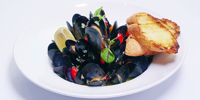 Blue Mussels, Al Dente (Soho), Central, Hong Kong
