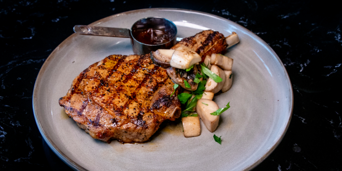 Dutch Milk Fed Veal Chop from Black Marble in Holland Village, Singapore