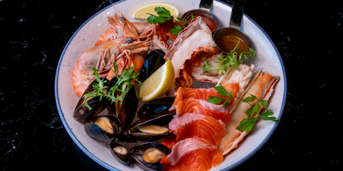 Seafood Platter from Black Marble in Holland Village, Singapore