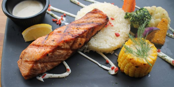 Grilled Salmon from Saturday House in Paya Lebar, Singapore