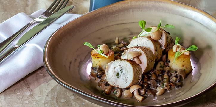 Chicken Roulade at Arts Café by Raffles (Raffles Jakarta)