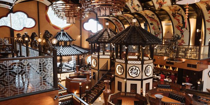 Interior 2 at Twelve Chinese Dining, Menteng