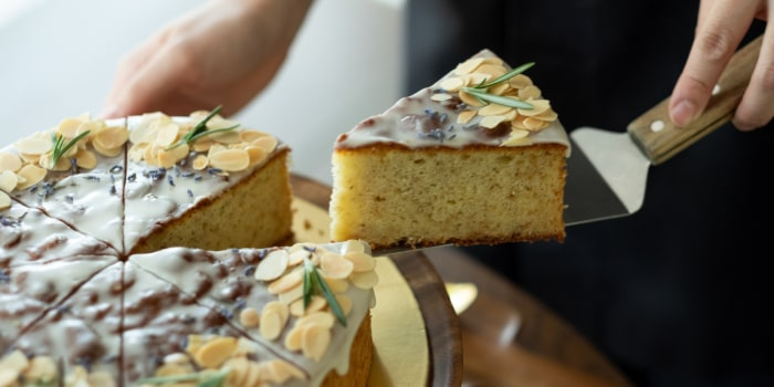 Lemon Lavender Cake from Sunday Folks in Holland Village, Singapore