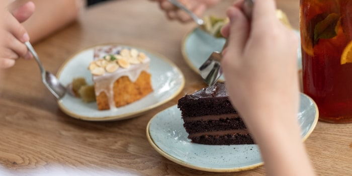 Cake Slices from Sunday Folks in Holland Village, Singapore