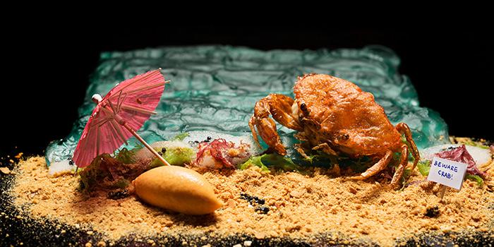 Chilli Crab from Restaurant Labyrinth in Esplanade, Singapore