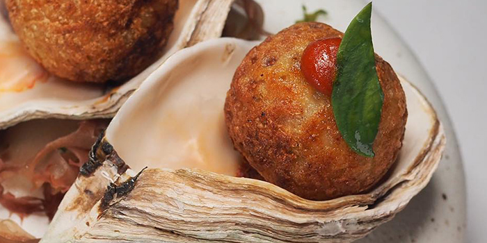 Takoyaki from Restaurant Labyrinth in Esplanade, Singapore