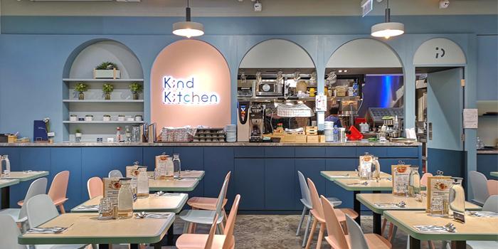 Interior, Kind Kitchen, Central, Hong Kong