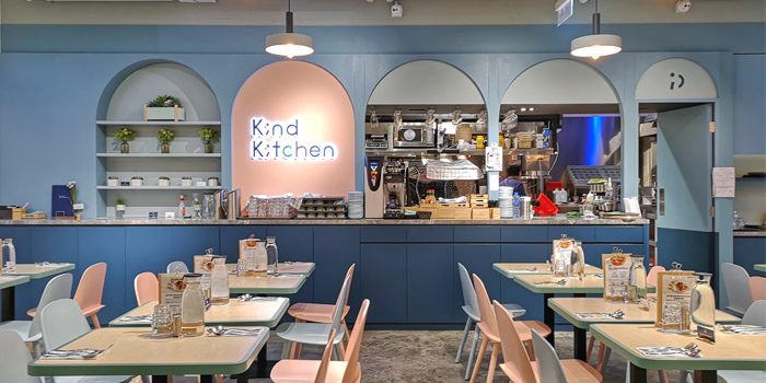 Interior, Kind Kitchen, Central, Hong Kong