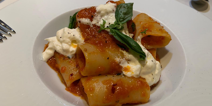Traditional Rigatoni with Bolognese, Aria, Central, Hong Kong