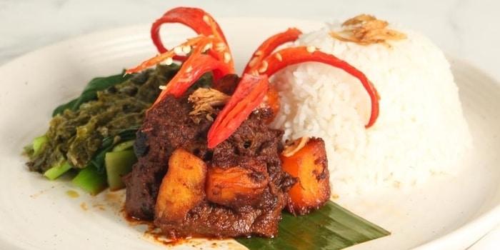 Rendang at Cinnamon (Mandarin Oriental Jakarta)