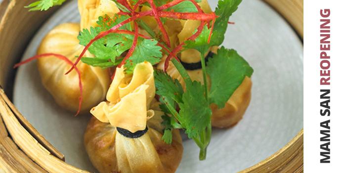 Food of Mama San Bali